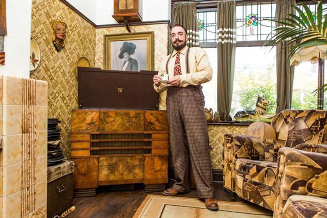 Ngôi nhà khiến bạn tưởng đi lạc về 100 năm trước