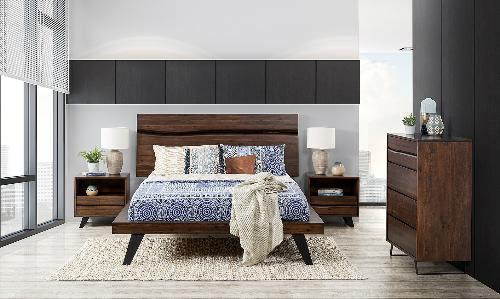 Phòng ngủ càng ít đồ đạc càng giúp bạn thư thái và có giấc ngủ ngon hơn. Ảnh:Apartment.