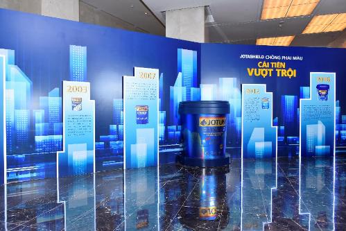 Sự kiện Thành phố không phai màu đã diễn ra tại TP.HCM và Hà Nội vào cuối tháng 8 thu hút gần 2.000 chủ đầu tư, kiến trúc sư và đại lý phân phối của Jotun. Đây được xem là hoạt động Marketing lớn nhất năm của Jotun với dòng sơn ngoại thất chủ lực  Jotashield Chống Phai Màu  cam kết bền màu tối ưu.
