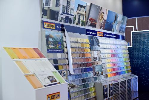 Cũng trong dịp này, Jotun Việt Nam đã giới thiệu đến công chúng Bộ sưu tập màu Màu Sắc Ngoại Thất, giúp các kiến trúc sư và chủ nhà tìm thấy nguồn cảm hứng thiết kế và phối màu cho các công trình kiến trúc và nhà ở.