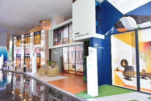Với 4 bộ sưu tập màu sắc chính của năm nay được Jotun giới thiệu bao gồm Thiên Nhiên, Tương Lai, Đương Đại, Cổ Điển; khu vực phác họa những xu hướng này rất được các khách hàng tham dự sự kiện đặc biệt quan tâm, bởi đây chính là bí quyết giúp họ tư vấn cho khách hàng của mình những gam màu phù hợp, mang lại sự hoàn hảo cho ngôi nhà.