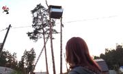 Người đàn ông Nga xây nhà trên cây của hàng xóm khi họ đi nghỉ