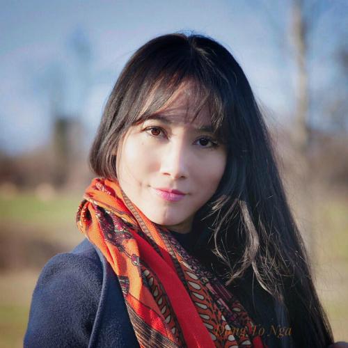 Chị Đặng Tố Nga từng là giảng viên Đại học Kiến trúc Hà Nội. Ảnh: NVCC.