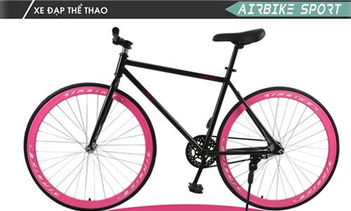 Xe đạp không phanh Fixed Gear ( Màu Hồng )  1.699.000 đ