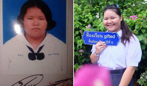 Cô gái biệt danh voi nước hơn 100 kg, lột xác xinh đẹp sau một năm