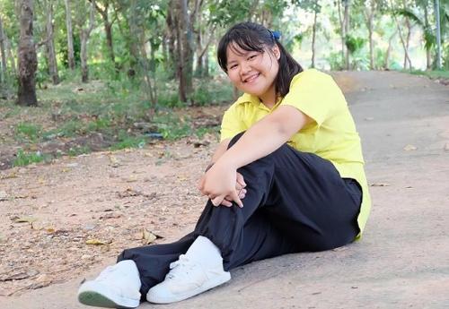 Chỉ đến khi bước lên cấp 3, nhận thấy thân hình nặng nề ảnh hưởng nhiều đến sinh hoạt