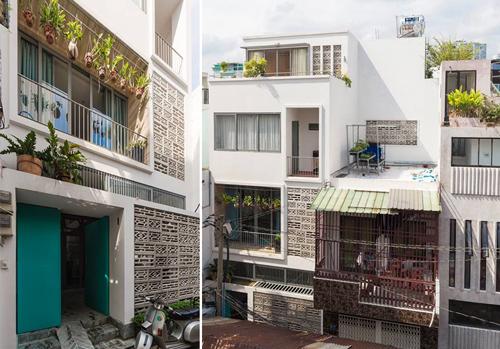 Ngôi nhà đặc biệt nằm ở quận Phú Nhuận, TP HCM.