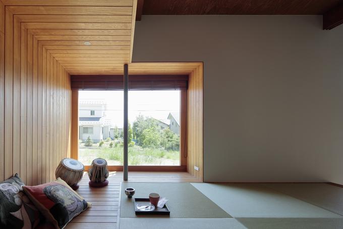 Ngôi nhà Nhật không hề có vách ngăn