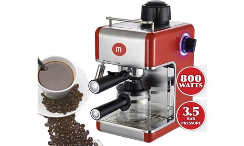 Máy pha cafe Mishio MK05 -Tặng bộ 05 thố thủy tinh, bộ dao 05 món và bộ 03 nồi men  1.516.000 đ   (-20%)