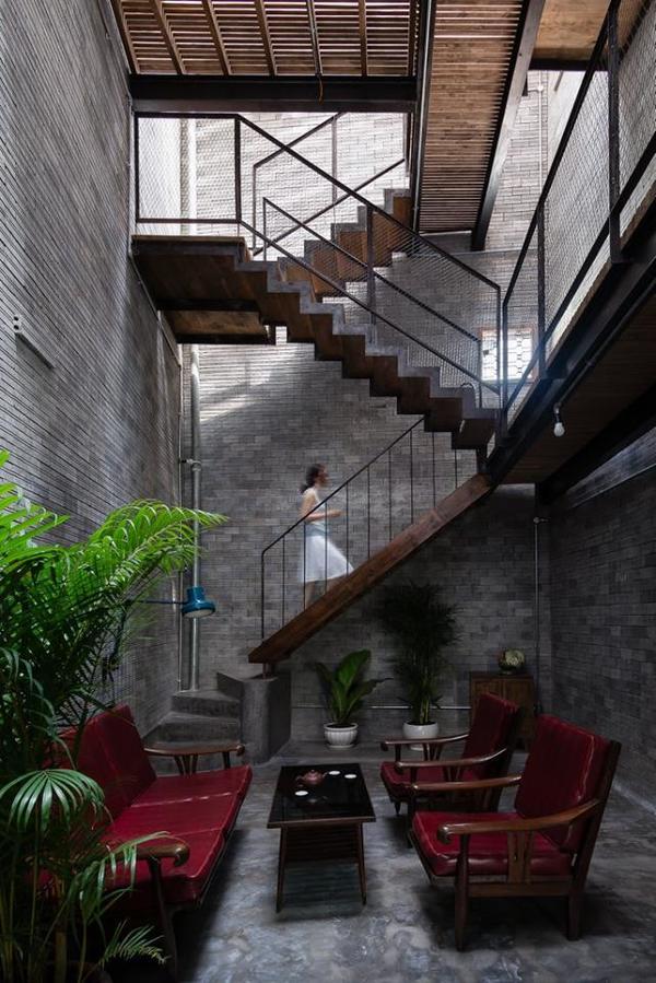 Ngôi nhà như đi lạc vào thiền viện giữa Sài Gòn