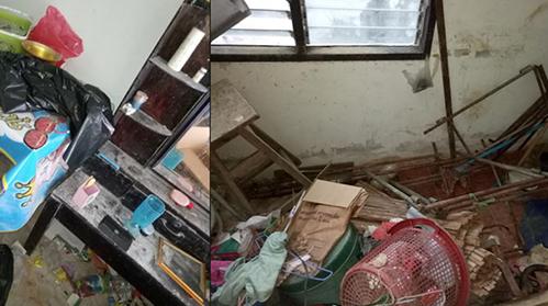 Cho chồng cũ thuê nhà, người vợ nhận về một ngôi nhà đầy rác. Ảnh: TarapornNutsati.