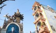 Ngôi nhà kỳ lạ 'biến hình' qua mỗi năm ở Hưng Yên