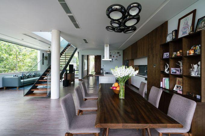 Ngôi nhà trên sườn núi có thể ngắm cả thành phố Vũng Tàu