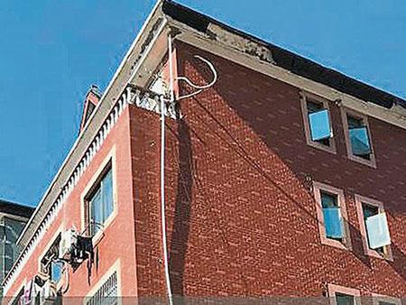 Nơi ở hiện tại của cụ bà 79 tuổi là một biệt thự 5 tầng,mỗi tầng 3 phòng ngủ. Ảnh: China Press.