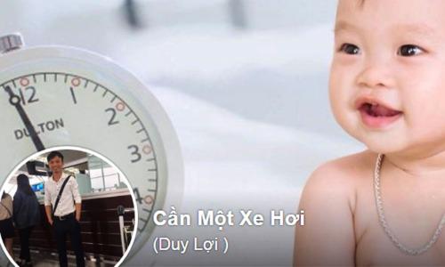 Nguyễn Duy Lợi luôn đặt tên Facebook ứng với mục tiêu mình đặt ra, từ đó mà cố gắng.