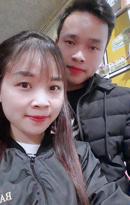 Đôi vợ chồng học chung một trường nghệ thuật tại Thái Nguyên. Ảnh: NVCC.
