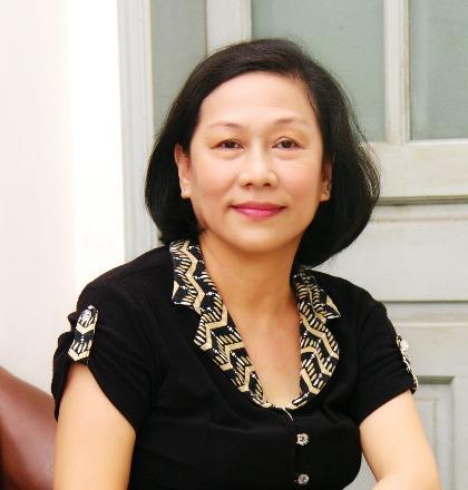 Chuyên gia tâm lý Trần Thị Hồng Hà. Ảnh: Trần Hồng Hà.