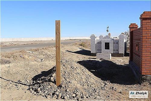 Nơi chôn cất cái xác từng được xem là ông Aigali. Ảnh: The Sun.