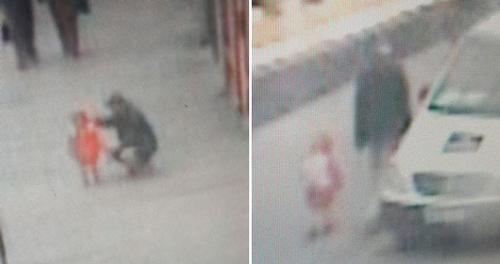 Hình ảnh được trích xuất từ CCTV được cảnh sát Anh đăng tải trên mạng xã hội.
