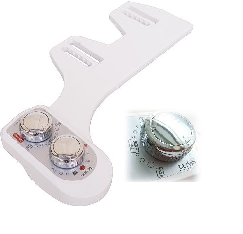 Thiết bị vệ sinh thông minh Luva Bidet với nhiều chế độ rửa khác nhau, bạn chỉ cần điều chỉnh chế độ phù hợp với mọi thành viên trong gia đình.