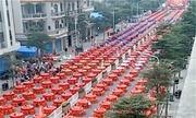 Đám cưới bày cỗ gần 2km đường ở Trung Quốc