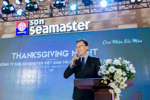Ông Teo Seck Chuan - Tổng giám đốc Seamaster.