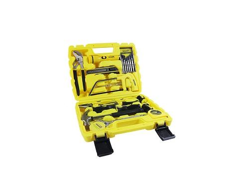 Bộ dụng cụ sửa chữa Nikawa: chỉ từ 450.000 đồng giúp các đấng mày râu thuận tiện trong việc sửa chữa, lắp đặt các thiết bị trong gia đình như đóng thêm giá, dàn giây treo, tháo lắp để lau chùi. Bộ dụng cụ với nhiều sản phẩm nhỏ, được xếp ngăn nắp ở hộp đựng giống với chiếc vali giúp nam giới dễ dàng sử dụng, di chuyển hoặc cất giữ. Sản phẩm là thiết bị cần thiết không thể thiếu trong gia đình.