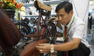 Chiếc xe đạp cũ giá 200 triệu chủ nhân Hà Nội không dám đi