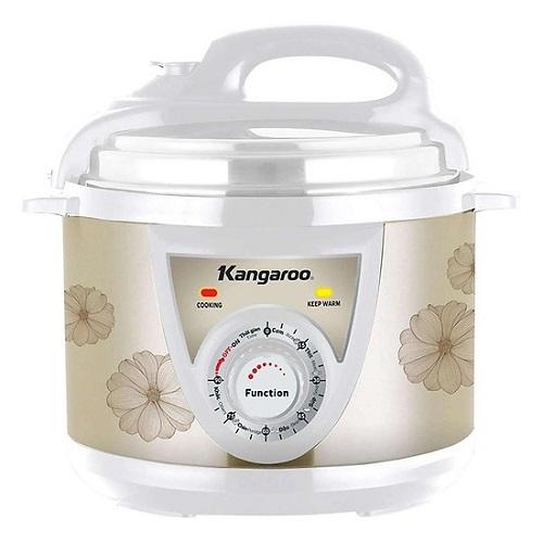 Nồi áp suất Kangaroo KG280M 5L: 790.000 đồng (giá gốc 1,490 triệu đồng). Bạn có thể dùng nồi áp suất điện để nấu nhiều món ăn ngon như: canh hầm xương, nấu cháo, bò hầm, ninh thịt...
