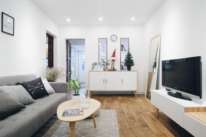 Căn hộ tập thể 30 m2 đẹp như nhà mẫu với 100 triệu đồng cải tạo