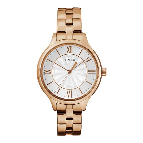 đồng hồ Timex gây ấn tượng mạnh với tính năng đèn nền INDIGLO và thiết kế đơn giản nhưng thanh lịch, sang trọng.  Ngoài ra, đồng hồ Timex còn ghi điểm với các tín đồ thời trang bởi chất liệu cao cấp và độ bền tối ưu nhờ được chế tác theo công nghệ được sử dụng trong quân đội Mỹ.