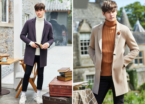 Áo len cổ lọ là chiếc áo được mệnh danh là không bao giờ lỗi mốt.