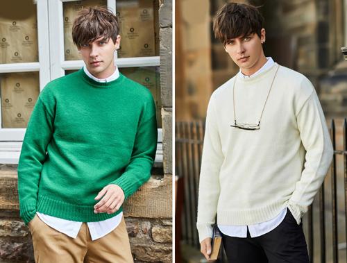 Đây là item không thể thiếu trong tủ đồ của nam giới mỗi mùa đông. Áo len với chất liệu mỏng, thích hợp mặc khi thời tiết se lạnh, hoặc mặc bên trong áo phao, áo choàng.