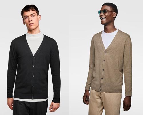Những chiếc áo khoác len được nhiều nam giới ưa dùng vì tính tiện dụng, đơn giản, thời trang mà vẫn ấm áp.