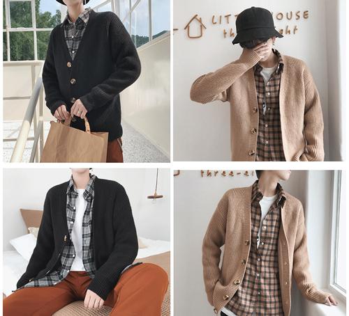 Nhiều bạn trẻ hiện nay chuộng xu hướng áo khoác len dầy, dáng dài, cúc to.