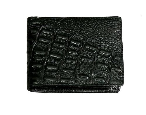 Ví nam da thật vân cá sấu màu đen 89.000 đồng (giá gốc 179.000 đồng). Sản phẩm làm từ da thật 100%, chất liệu cao cấp, thiết kế bề mặt da mềm, đường may tỉ mỉ, đẹp mắt.