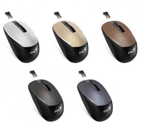 Chuột máy tính Genius NX 7015, Wireless. Ứng dụng tùy chỉnh thông minh, có thể làm việc trên bất cứ bề mặt nào mà bạn chưa từng nghĩ tới.