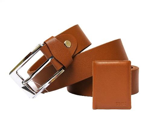 Combo ví và thắt lưng nam da thật 100% chỉ còn 250.000 đồng (giá đã giảm 37%).
