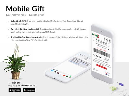 Người nhận dễ dàng quản lý mã quà tặng Mobile Gift thông qua ứng dụng Mobile Gift Set trên iOS và Android.