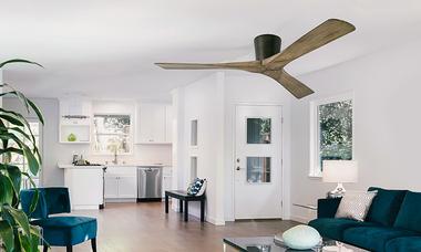 Chọn quạt trần phù hợp cho chung cư trần thấp