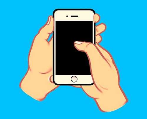 Cách cầm smartphone tiết lộ sự khôn ngoan của bạn - 1