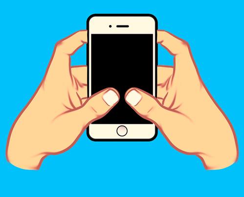 Cách cầm smartphone tiết lộ sự khôn ngoan của bạn - 2