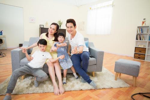 MC Hồng Phúc chú trọng việc tạo dựng không gian sống an toàn cho gia đình.