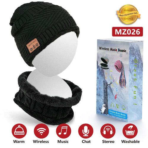 Mũ len kết nối Bluetooth:  Sản phẩm này khá độc đáo và tiện dụng bởi chiếc mũ len giữ ấm truyền thống được công nghệ hóa nhờ khả năng kết nối Bluetooth. Với chiếc chiếc mũ này, người dùng được giữ ấm, kết nối Wifi, sử dụng tai nghe và micro, gọi điện và hoàn toàn có thể giặt rửa được.  Mũ phù hợp để mua đội trong thời tiết lạnh cuối năm hoặc mua làm quà tặng.Chiếc mũ len kết nối Bluetooth này có nhiều màu, giá về Việt Nam khoảng 900 ngàn đồng.
