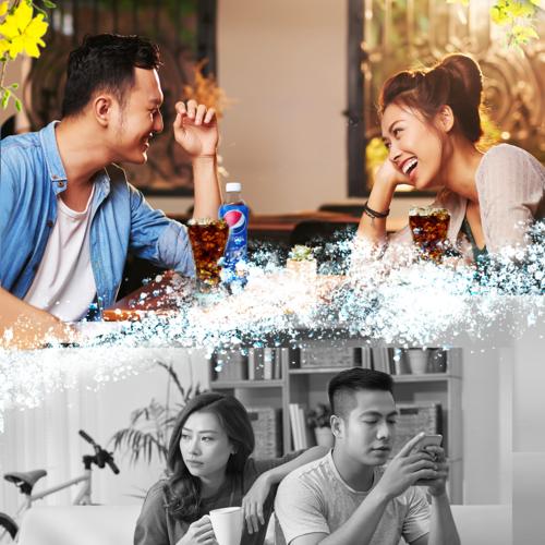 San sẻ, trò chuyện chuyện cùng nhau, thể hiện tình yêu bằng những quan tâm thật lòng ngoài đời thực mới chính là cách những người yêu nhau tận hưởng một cái Tết đậm đà.