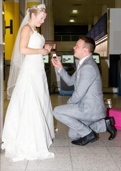 Trước lễ cưới, Paul và Sarah chỉ nói chuyện điện thoại với nhau 3 lần, trong 7 tiếng đồng hồ. Ảnh: Fox News.