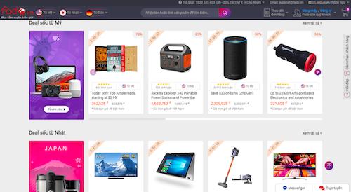 Fado,vn thường xuyên cập nhật các sản phẩm hàng hiệu giá tốt từ Amazon Mỹ, Đức, Nhật Bản.