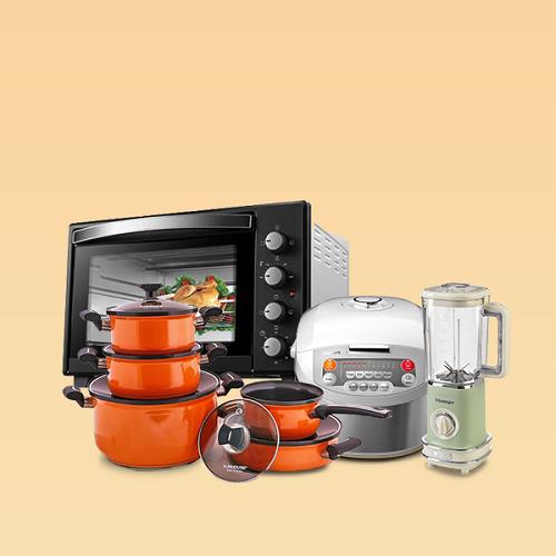 Các sản phẩm gia dụng thiết yếu cho gia đình giảm giá đến 50%. Người tiêu dùng được giảm thêm 89.000 đồng khi nhập TETSUMVAY cho đơn hàng gia dụng từ 799.000 đồng, trong thời gian từ nay đến 18/1 (số lượng ưu đãi có hạn).