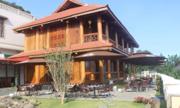 Doanh nhân chuyển nhà gỗ 300m2 từ Thanh Hóa về Đà Lạt