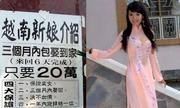 Số phận của những cô dâu Việt ở Trung Quốc